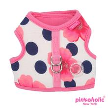 Peonies Dog Harness by Pinkaholic - Pink
