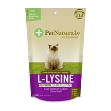 Pet Naturals L-Lysine Cat Chew Supplements