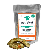 Pet Releaf Edibites Dog Treats - Kale & Carrot