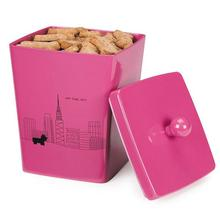Pet Studio City Dog Melamine Treat Canister - Cosmopolitan