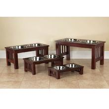 Pet Studio Mission Cherry Wood Diners