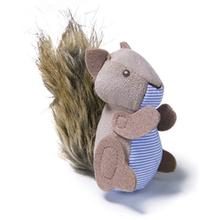 Petlinks Refillable Catnip Plush Cat Toy - Push Players Squirrel