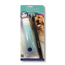 Petosan Dog Dental Kit Brush and Paste