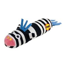 Petstages Stuffing Free Lil' Squeak Dog Toy - Zebra