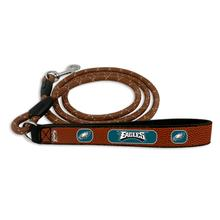 Philadelphia Eagles Frozen Rope Leather Dog Leash