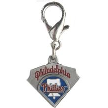 Philadelphia Phillies Pennant Dog Collar Charm