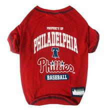 Philadelphia Phillies Dog T-Shirt - Red