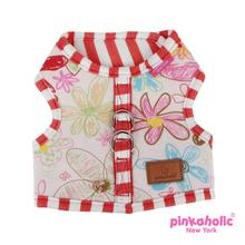 Picnic Pinka Dog Harness by Pinkaholic - Red