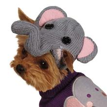 Piggyback Pals Dog Sweater Set - Elephant