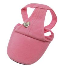 Pink Heart Dog Hat