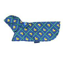 Pitter Patter Packable Dog Rain Poncho - Rubber Ducky