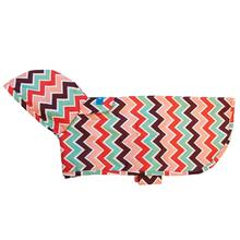 Pitter Patter Packable Dog Rain Poncho - Sweet Sorbet