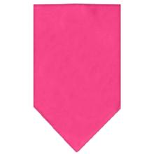Plain Dog Bandana - Bright Pink