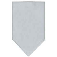 Plain Dog Bandana - Gray