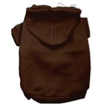 Plain Dog Hoodie - Brown