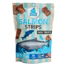 Plato Salmon Strips Dog Treats