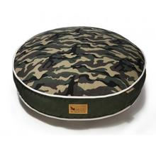 P.L.A.Y. Camoflauge Round Dog Bed - Green
