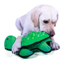 Plush Puppies Lil Rippers Dog Toy - Turtle