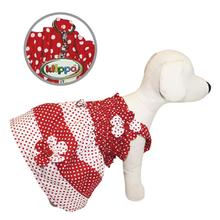 Polka Dot Dog Sundress by Klippo - Red and White
