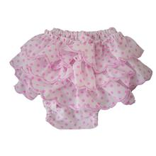 Polka Dot Frill Dog Sanitary Pants by Puppe Love