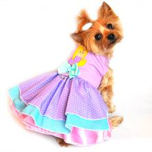 Polka Dot Mermaid Dog Dress