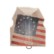 Pony Express Walking Harness Dog Vest - Betsy Ross