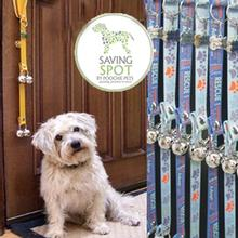 Poochie Bells Dog Doorbell - Saving Spot Collection