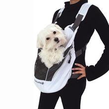 Poochy Pouch White Dog Carrier