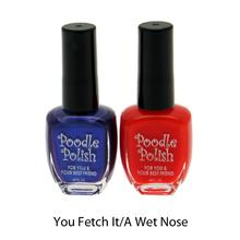 Poodle Polish Dual Pack Dog Nail Polish