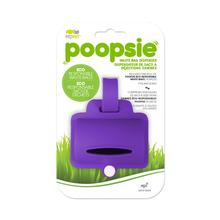 Poopsie Silicone Waste Bag Dispenser - Purple