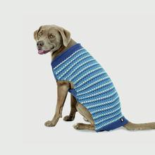 Popper's Dog Sweater - Denim Blue