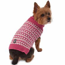 Popper's Dog Sweater - Pink