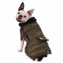 Portland Dog Parka - Olive Green