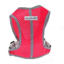 Precision Sport Mesh Dog Harness - Red