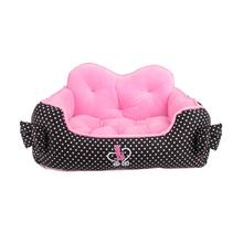 Premium House Dog Bed by Pinkaholic - Black