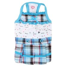 Pre-School Dog Dress by Pinkaholic - Sky Blue