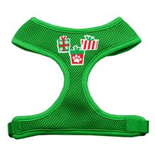 Presents Mesh Dog Harness - Green