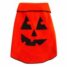 Pumpkin Face Dog Pullover - Orange
