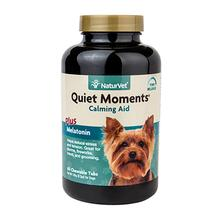 Quiet Moments Calming Aid with Melatonin Dog Tablets by NaturVet