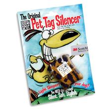 Quiet Spot Pet Tag Silencer - Leopard