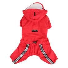Race Track Rainsuit by Puppia - Red