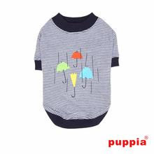 Rainy Day Dog Shirt by Puppia - Navy