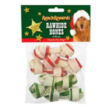 Ranch Rewards Holiday Rawhide Bones