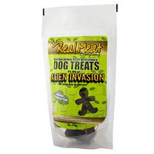 Real Meat Alien Invasion Dog Treats - Beef, Oatmeal and Spinach
