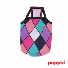 Renaissance Dog Tank Top by Puppia - Black/Pink