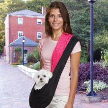 Reversible Sling Dog Carrier - Pink/Black