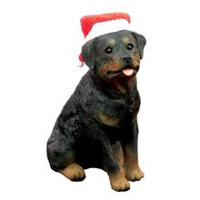 Rottweiler Christmas Ornament - Sitting