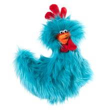 Rowdy Rooster Dog Toy - Turquoise