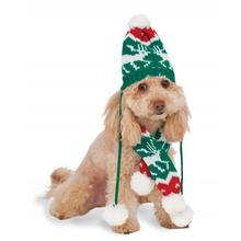 Rubies Holiday Knit Dog Hat and Scarf Set