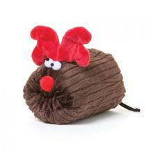 Rudy Holiday Dog Toy - Brown